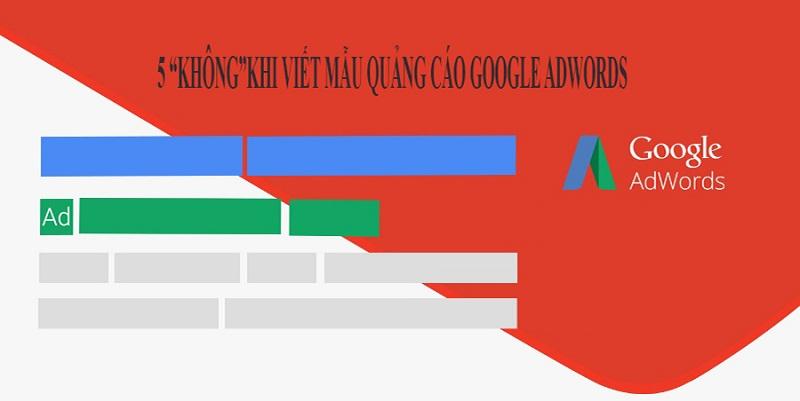 sai lầm google adwords cần tránh