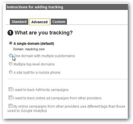 toàn bộ mã Google Analytics mới