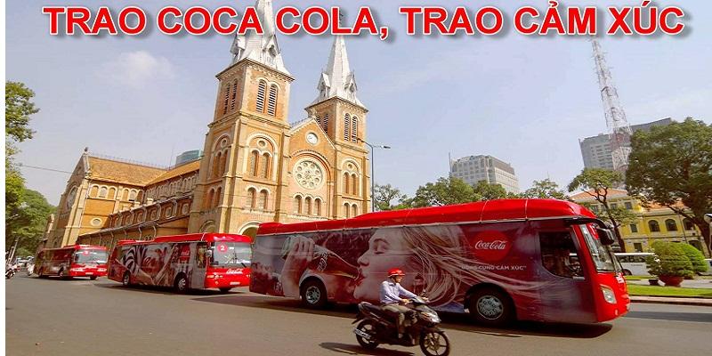 Trao coca cola, trao cảm xúc