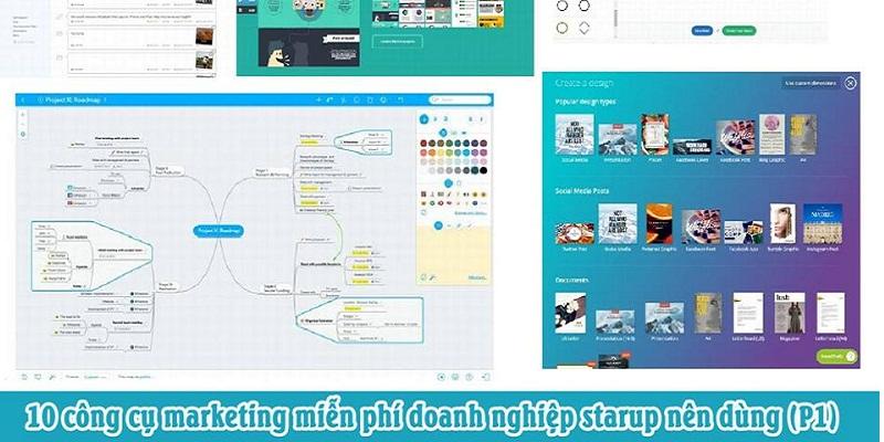 10 công cụ marketing miễn phí doanh nghiệp starup nên dùng