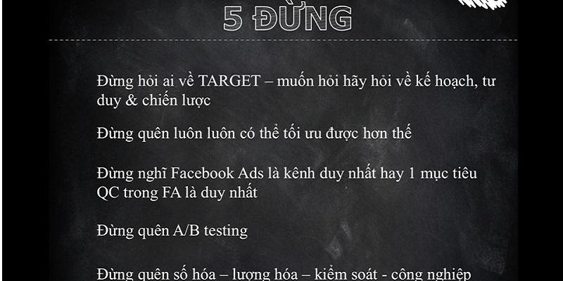 5 Sai lầm khi bán hàng bằng profile facebook